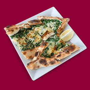 spinach-pide